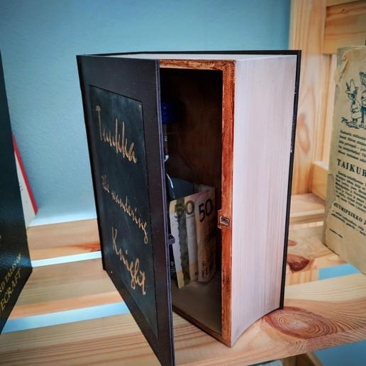 Descargar diseños 3D gratis Book Hide (Grande), Superbeasti