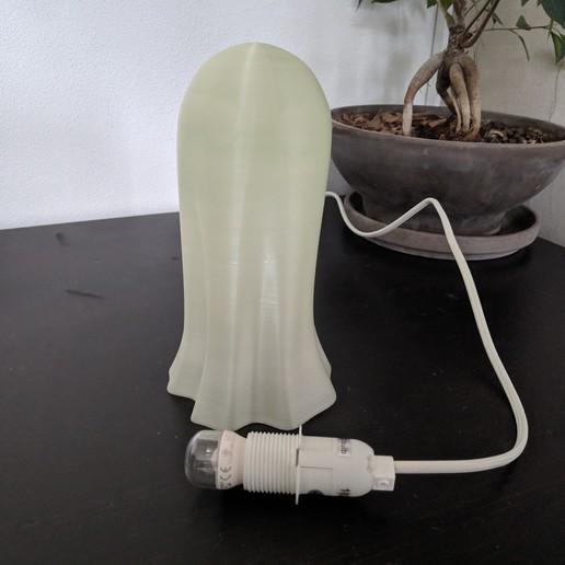 IMG_20191013_143700.jpg Download free STL file Pavel the Ghost Lamp • 3D printing template, Superbeasti