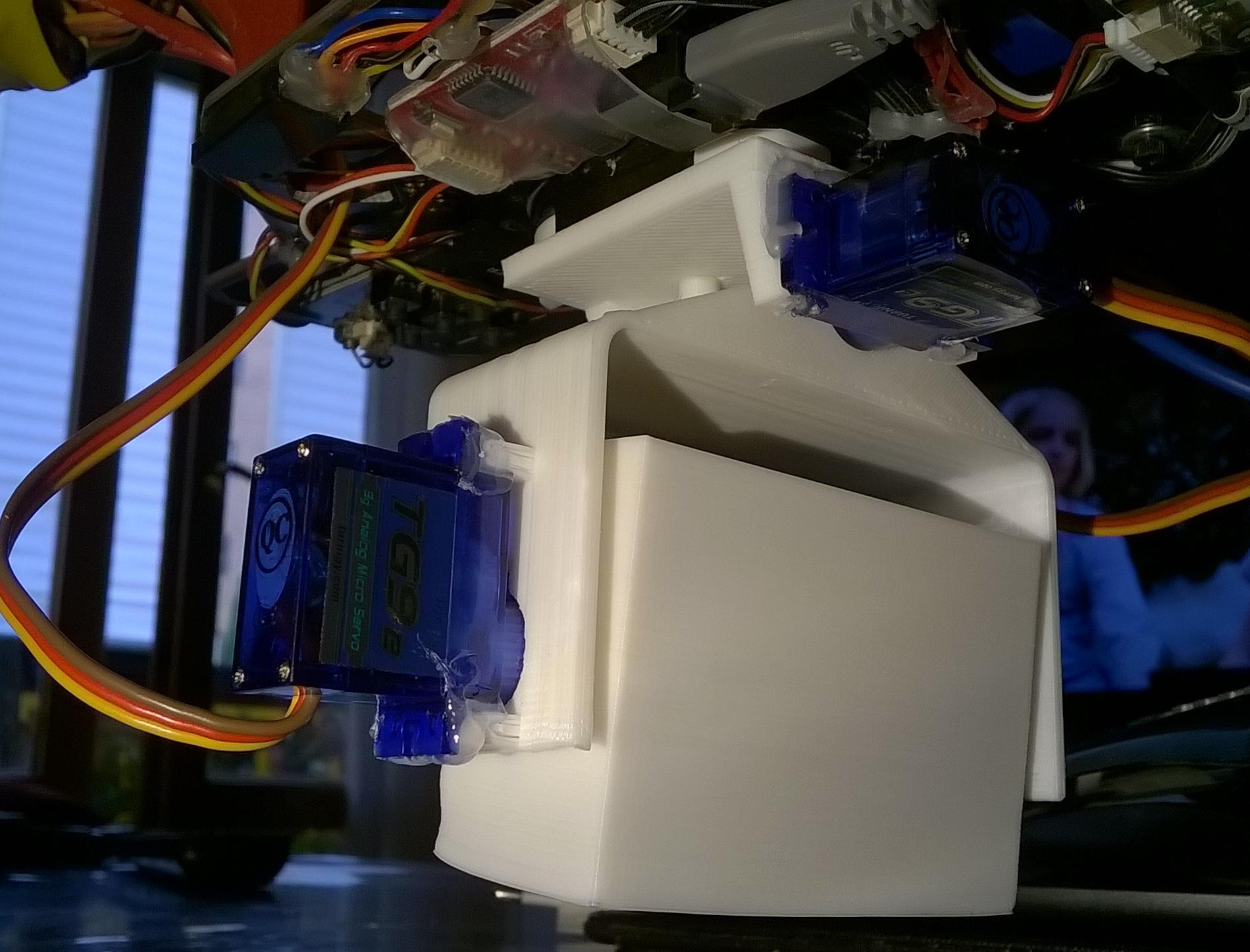 Photo1.jpg Download free STL file Drone Camera Gimbal • 3D printer model, Azkarel