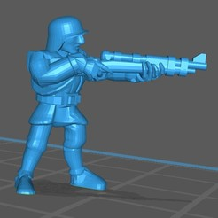 Download free 3D printer designs Metal Slud Enemy Soldier, BlackFox