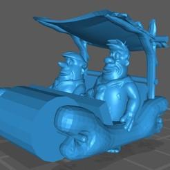 Troncomovil 01.jpg Download STL file The Flintstones car • 3D print model, BlackFox