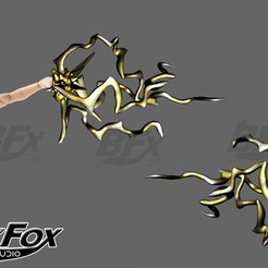 puño pierna.jpg Download STL file Power Effect punch kick • 3D print template, BlackFox