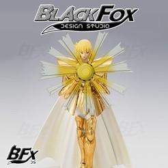 Shaka 1.jpg Télécharger fichier STL EFFET VIRGO SAINT SEIYA • Plan à imprimer en 3D, BlackFox