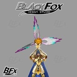 explosion de geminis 1.jpg Télécharger fichier STL EFFET Gemini SAINT SEIYA • Objet pour imprimante 3D, BlackFox