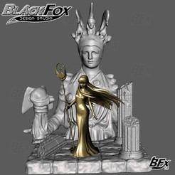 Athena uno.jpg Télécharger fichier STL Athena Saint Seiya Diorama • Plan pour impression 3D, BlackFox