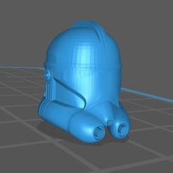 Descargar archivos 3D gratis Casco de soldado Starwars, BlackFox