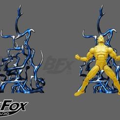 base espalda.jpg Download STL file Power Effect Back energy • Design to 3D print, BlackFox