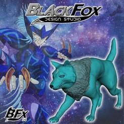 fenrir 2.jpg Download STL file Ferir Saint Seiya Wolf • 3D printer design, BlackFox