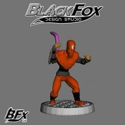 naranja 3.jpg Download STL file FOOT SOLDIER TMNT 28MM N3 • 3D printing model, BlackFox
