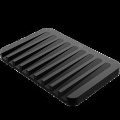 Télécharger STL gratuit Porte-savon, eduardosanroman0408