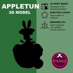 Descargar archivo 3D gratis Appletun Gigantamax (high poly) - Pokemon, pollinvolador