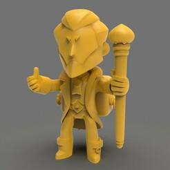 Byron 1.2.jpg Download STL file Byron - Brawl Stars • 3D printing template, pollinvolador