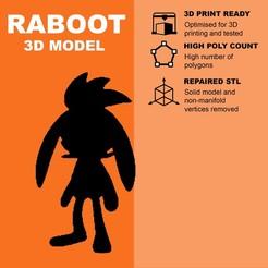 Descargar Modelos 3D para imprimir gratis Raboot (high poly) - Pokemon, pollinvolador