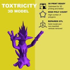 Descargar archivos 3D gratis Toxtricity (concert pose) - Pokemon, pollinvolador