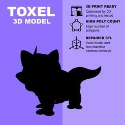 Descargar STL gratis Toxel (high poly) - Pokemon, pollinvolador