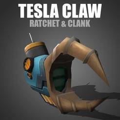TeslaClaw.jpg Download STL file Tesla Claw - Ratchet & Clank • 3D printable model, pollinvolador