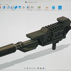 Descargar STL gratis G1 Astrotrain Rifle, Synbios