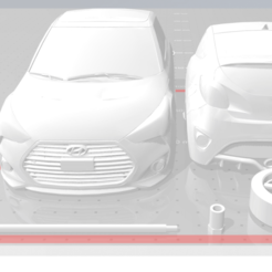 2020-01-05 (3).png Download STL file Hyundai veloster turbo • 3D printer design, vinzzz