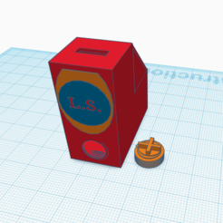 Download free GCODE file Moneybox with mechanism • 3D printer design, logansiegel27