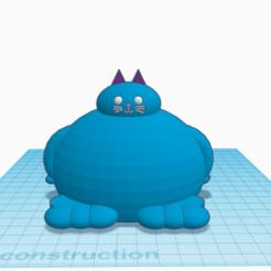 Capture 1 chat.PNG Télécharger fichier STL chat (gros) • Objet pour impression 3D, logansiegel27