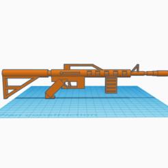 Capture 10 fusil d'assaut.PNG Télécharger fichier GCODE Fusil d'assaut (mitraillette, pistolet) • Modèle pour impression 3D, logansiegel27