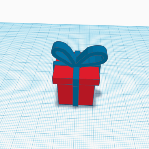 Download free 3D model Christmas gift, logansiegel27