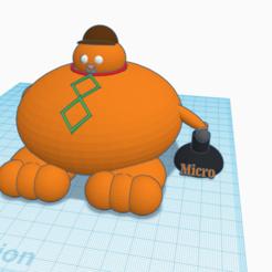 chat.png Télécharger fichier STL Chat (gros) Rappeur  • Plan à imprimer en 3D, logansiegel27