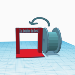 Download free GCODE file Reel holder • 3D printing model, logansiegel27