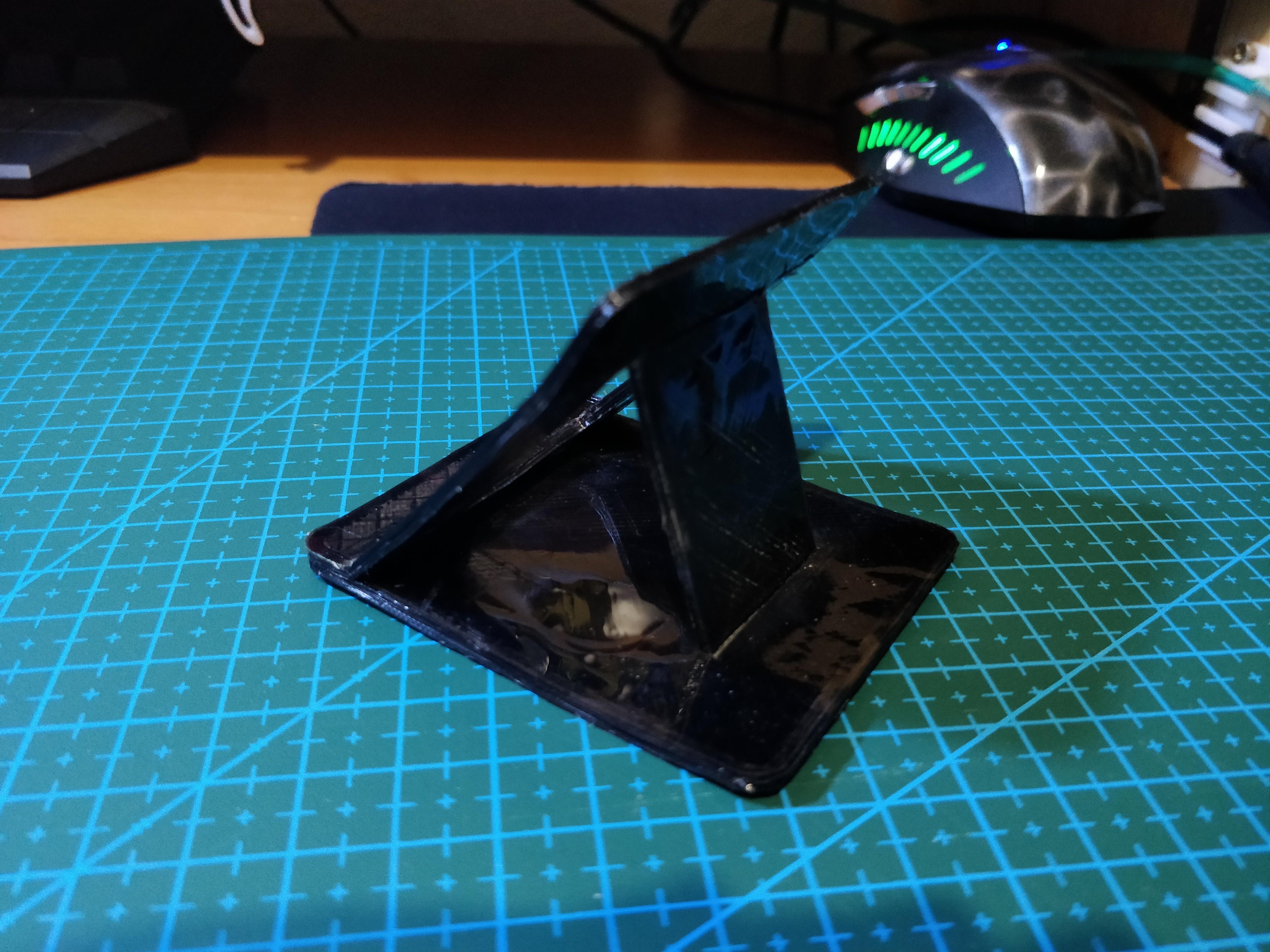laptopStand2_2.jpg Télécharger fichier STL gratuit Support mince pour ordinateur portable • Design pour imprimante 3D, Kliffom