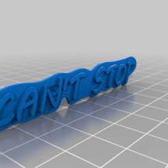 logo.png Télécharger fichier STL gratuit Le jeu de société ne peut pas s'arrêter d'être portable • Modèle pour impression 3D, Kliffom