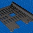 Télécharger modèle 3D gratuit Plaque arrière Framboise Pi 3 pour Ender 3, Kliffom