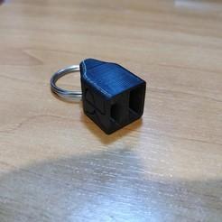 Télécharger plan imprimante 3D gatuit Porte-clés USB Type C, Kliffom
