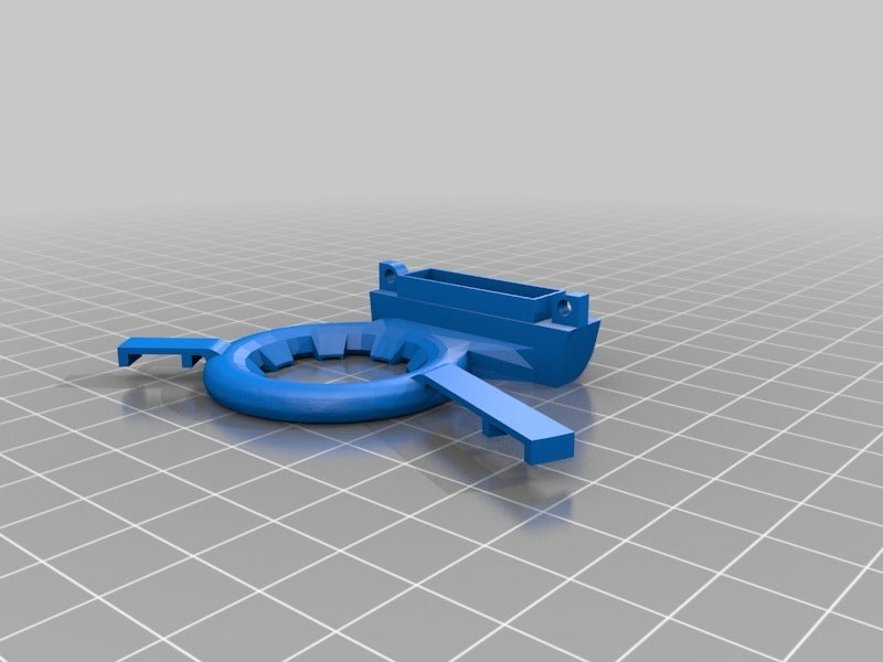 6c96a92f9e2fe04378b9befc49837273.png Download free STL file Ender 3 Vent Ring with Led Ring support (offset) • 3D print model, Kliffom