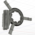Télécharger fichier impression 3D gratuit Ender 3 Vent Ring avec support Led Ring, Kliffom