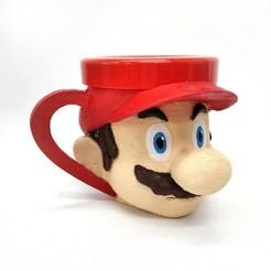 Descargar archivo STL Taza Mario Bros • Objeto imprimible en 3D, fantasyimpresiones