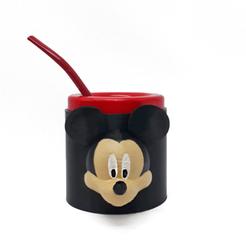Mickey cara (1).png Download free STL file Mate Mickey • 3D printable template, fantasyimpresiones