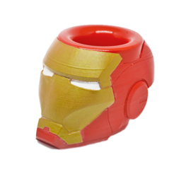 Iron man.png Download free STL file Mate Iron Man • 3D printing design, fantasyimpresiones