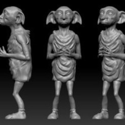 card_preview_pic1.JPG Download free STL file Dobby from Harry Potter • Model to 3D print, fantasyimpresiones