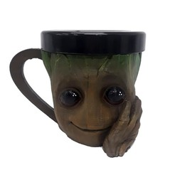 groot taza.jpg Télécharger fichier STL gratuit Tasse pour bébé Groot • Objet pour imprimante 3D, fantasyimpresiones