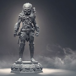 p1.jpg Download free STL file Figure Elder Predator - Stl - For 3d Printing • 3D printing object, fantasyimpresiones