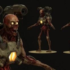 2.jpg Télécharger fichier OBJ gratuit Le monstre de l'alliance maudite • Design à imprimer en 3D, fantasyimpresiones