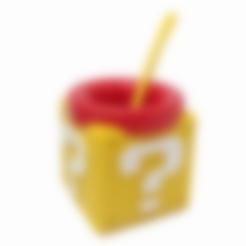 Download STL file Mate Cube (Mario Bros) • 3D printer model, fantasyimpresiones