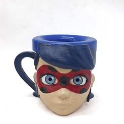 taza lady bug.jpg Download free STL file LadyBug Mug • Design to 3D print, fantasyimpresiones