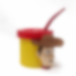 Download STL file Mate Woody (Toy Story) • Object to 3D print, fantasyimpresiones