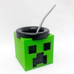 Descargar archivo STL Mate Creeper (Minecraft) • Diseño para imprimir en 3D, fantasyimpresiones
