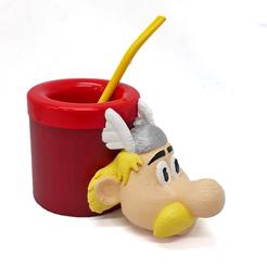 Asterix mate.png Download free STL file Mate Asterix • Object to 3D print, fantasyimpresiones