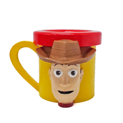 Download STL file Woody Mug (Toy Story) • 3D print design, fantasyimpresiones