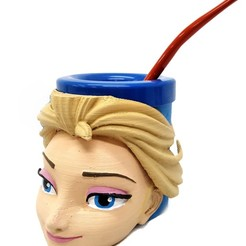 mate elsa_2.jpg Download free STL file Mate Elsa (Frozen) • 3D printable template, fantasyimpresiones