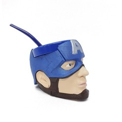 Capitan America (1).jpg Download free STL file Mate Captain America • Design to 3D print, fantasyimpresiones