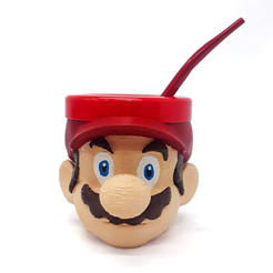 Download STL file Mate Mario Bros • 3D print design, fantasyimpresiones